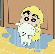 Cute Characters, Cartoon Characters, Sinchan Cartoon, Sinchan Wallpaper, Anime Meme Face, Tamako Love Story, Crayon Shin Chan, Cartoon Profile Pictures, Japanese Cartoon