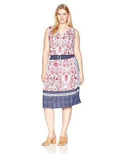 New Lucky Brand Women's Plus Size Kerry Knit Dress online. Perfect on the S.L. Fashions Dresses from top store. Sku ojvf77307cbgv88544