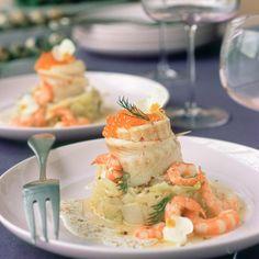 Découvrez la recette Filet de sole, fondue de poireaux sur cuisineactuelle.fr.