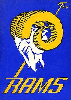 Los Angeles Rams Logo #1