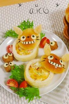かわいいパンカップ from http://cookpad.com/recipe/2101735