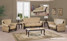 $1378 2 Pcs Modern White Leatherette Sofa Set Sofa And Loveseat Enchanting Designer Living Room Sets Inspiration