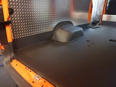 maintenance cars with a floor coating to protect the insides.