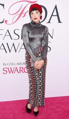 Mia Moretti at the 2016 CFDA Fashion Awards