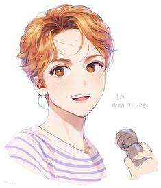 17 || Seventeen || Vernon || Fanart