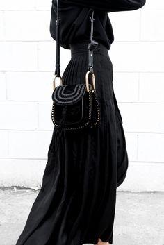 Le parfait total look noir #218 (photo Figtny)