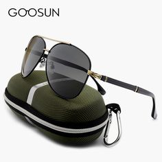 6e259f758cf GOOSUN Luxury Men s Sunglasses Polarized Brand men Driving Fishing Sun  Glasses Male Outdoor UV400 Vintage Eyewears