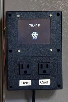 A Touchscreen Based Fermentation Temperature Controller