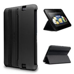 Marware MicroShell Folio Lightweight Standing Case for Kindle Fire HD 7, Black (only fits Kindle Fire HD 7)