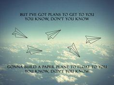 Plans // Oh Wonder