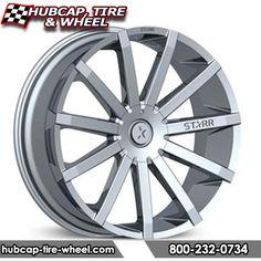 Starr 222 Mayhem Chrome Wheels Rims