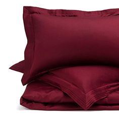 URBANARA Manziana bed linen - 100% Egyptian cotton, 300 thread count - bordeaux red, single duvet cover set Buy this and much more home & living products at http://www.woonio.co.uk/p/urbanara-manziana-bed-linen-100-egyptian-cotton-300-thread-count-bordeaux-red-single-duvet-cover-set/
