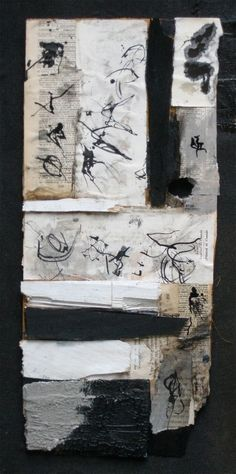 Gabriel Lalonde poet and mixed media artist  (blog : l'art quotidien) amalthee-creations