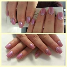 Pink, silver