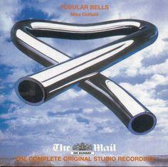 MIKE OLDFIELD: TUBULAR BELLS: COMPLETE ALBUM - UK PROMO CD (2007) REMASTERED #ProgressiveArtRock Music Covers, Album Covers, Lps, Tubular Bells, Mike Oldfield, Line Friends, Cover Art, Space Age, Rock Art
