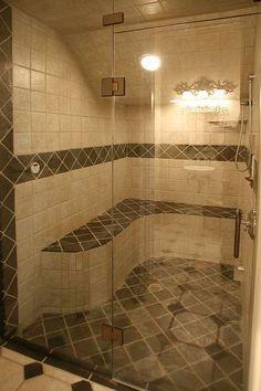 Walk in shower...i think so!