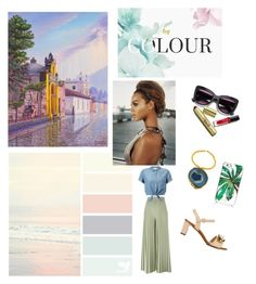 """""""Out in about outfit"""" by neonaila on Polyvore featuring Amanda Marcucci, Dolce&Gabbana, Kate Spade, Samsung, NOVICA, Givenchy and Miss Selfridge"""