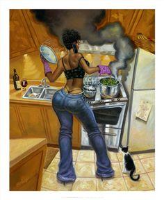 Lookin' Good Cookin' by Sterling Brown