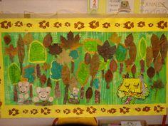 La fresque de Boucle d'Or et les 3 ours