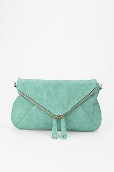 Tiffany zipper clutch