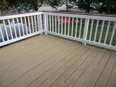 deck painted railing - Google Search