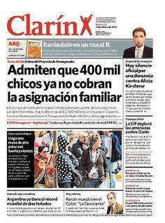 Admiten que 400 mil chicos ya no cobran la asignación familiar. Más información: http://www.ieco.clarin.com/economia/Admiten-chicos-perdieron-salario-familiar_0_780521958.html