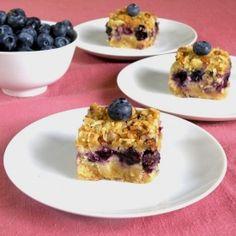 Almond Blueberry Pie Bars