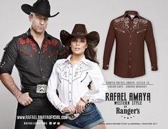 Conoce el verdadero estilo vaquero con nuestra línea Rafael Amaya Western Style by Rangers. Conviértete en el vaquero que siempre quisiste ser! #MundoWestern