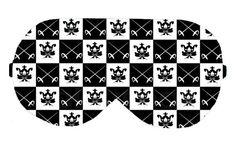 Black and White Check Checker Checkered Sleep Eye Sleeping Mask Masks Cover Sleep Mask Night Blindfold Blindfolds Travel Kit patch Slumber by venderstore on Etsy