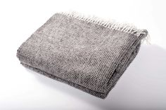 Chalet Throw Charcoal Grey