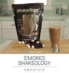 Yum! S'mores Shakeology      // healthy // smoothie // shakeology //recipe // clean eats // beachbody // 21 Day Fix // fitspo // healthy food // eat clean // fitspiration // smores // s'mores // chocolate // healthy treat // dessert // shake // graham cracker // marshmallow // nutrition // health // healthy lifestyle