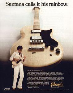 Essa foi a segunda guitarra que eu tive. Pouca gente conhecia aqui no Brasil. Foi comprada em 1978.