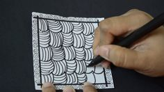 10 Simple Zentangle Patterns for Beginners
