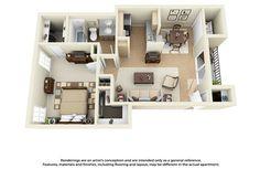 Luxury 1 & 2 Bedroom Apartments in Dallas, TX