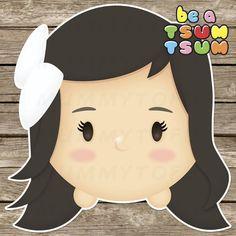 Be a Tsum Tsum  Custom Tsum Tsum Clipart Digital Cute by mummytofu