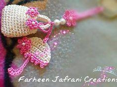 Luty Artes Crochet: Chaveiros lindos e delicados. Great for a key ring, bookmark, or decoration!