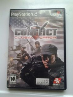 Conflict: Global Terror (Sony PlayStation 2, 2005) Ps 2 Games Mature Platform
