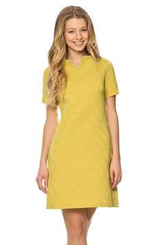 Strukturiertes Jacquard-Kleid