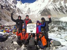Congratulations to Anne, Gordon, Alan and Christopher aka The Altitude Junkies who've made it to #Everest Base Camp - photos just arrived. Well done guys.   Read more of their journey at www.privateexpeditions.com-news-and-views