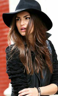 Roxy Wool Hat - Black at Necessary Clothing - Trendslove Looks Street Style, Looks Style, Style Me, Look Fashion, Fashion Beauty, Autumn Winter Fashion, Womens Fashion, Fall Fashion, Net Fashion