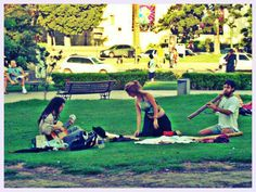 Plaza Italia - Bs.As - Armonía/ Colores - Danza y Música - ARTE