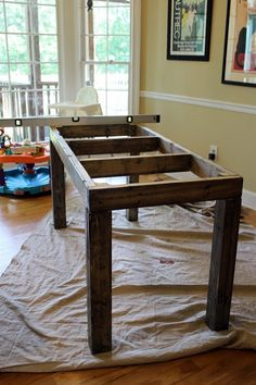 DIY Farmhouse Table Tutorial -