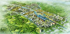 Hengqin District Central Area