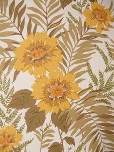 Deltoria | Flower Wallpaper | Vintage Wallpaper | Johnny-Tapete