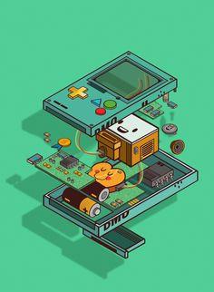 Adventure Time 650699846147231519 - Source by Adventure Time Cartoon, Adventure Time Finn, Wallpaper Animes, Cartoon Wallpaper, Marceline, Desenhos Cartoon Network, Adveture Time, Adventure Time Wallpaper, Isometric Art