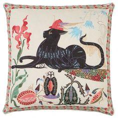 Les Chats Putte tyynynpäällinen, pellava