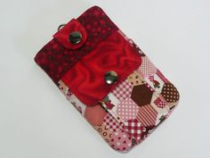 My New Smartphone Case with snap button closure . Diy And Crafts, Coin Purse, Smartphone, Closure, Purses, Wallet, Button, Handbags, Purse
