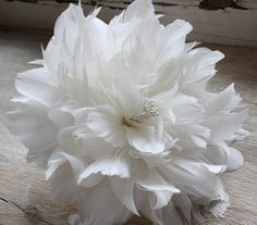Feather Flower Tutorial How to Make Feather by jewelboxballerina