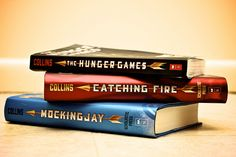 Hunger Games, Catching Fire, Mockingjay