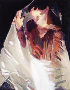 Maria Lassnig, Spell 2006 oil on canvas 49.21 x 39.37  inches/125 x 100 cm